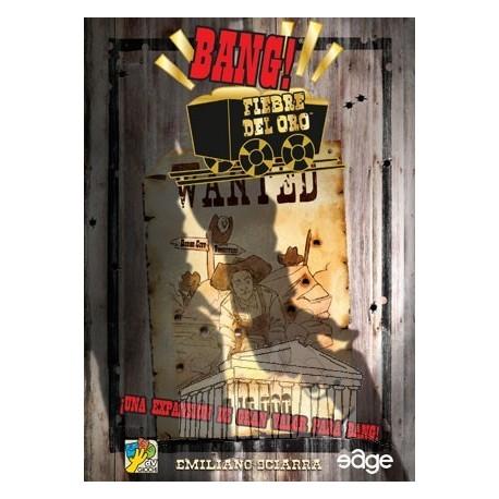 Expansión Fiebre del oro del juego de cartas Bang! Una expansión de gran valor para Bang! Emiliano Sciarra
