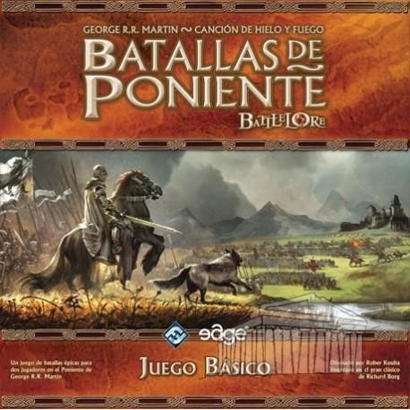 Batallas de Poniente, juego de mesa de Juego de Tronos, Lannister, Stark... elige tu casa y conquista poninete