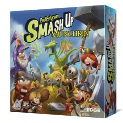 Comprar juego de cartas Smash Up Munchkin de Edge