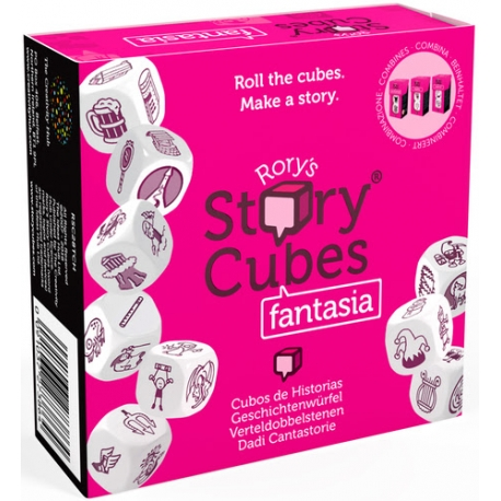 Roll the dice and, beginning Once upon a time, invent a story involving 9 results of the dice. This time, fantasy stories