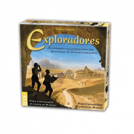 EXPLORERS, Card game for 2 players of simple mechanics that you can not stop playing.