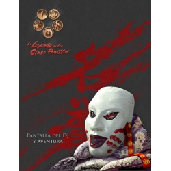 La Leyenda de los Cinco Anillos 4ª Ed. - Pantalla Del Dj Y Aventura
