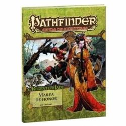 PATHFINDER MAREA DE HONOR (REGENTE 5) Los héroes llegan a Minkai y se encuentran con un Imperio de rodillas.
