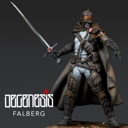 Degenesis: Falberg Scale 75 miniature game