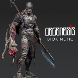 Degenesis: Biokinetic Scale 75 miniature game
