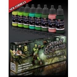 Set de Pintura Orcs and Goblins