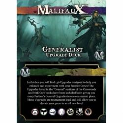 Malifaux 2E: Generalist Upgrade Deck