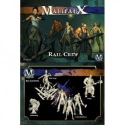 Malifaux 2E: Arcanists/Ten Thunders - Rail Crew (6)