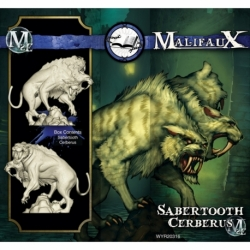 Malifaux 2E: Arcanists - Sabertooth Cerberus