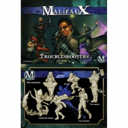 Malifaux 2E: Arcanists - Troubleshooters (6)