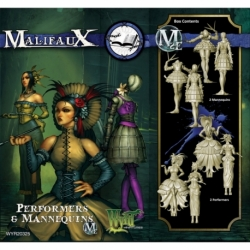Malifaux 2E: Arcanists - Peformers & Mannequins (4)