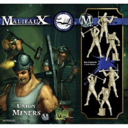 Malifaux 2E: Arcanists - Union Miners (3)