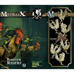 Malifaux 2E: Gremlins - Rooster Riders (3)