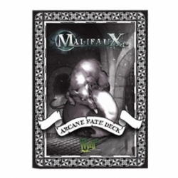Malifaux 2E / Through the Breach RPG: Arcane Fate Deck (Dark)