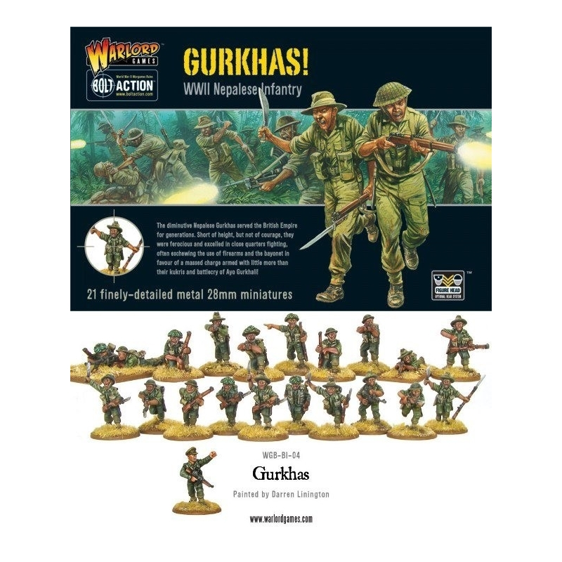 Bolt Action Gurkhas WGB-BI-04