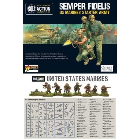 Comprar US Marine Corps Starter Army de Warlord 4d329f0ed36
