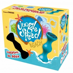 New Asmodee, new Jungle Speed ​​Beach waterproof, so you can play with your friends on the beach, pool ...