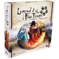 La Leyenda de los Cinco Anillos el juego de cartas de Fantasy Flight Games