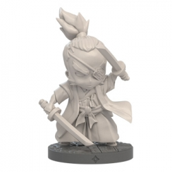 Yagyu Jubei expansion character for Ninja All-Stars basic battle game by Edge Entertainment