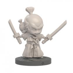 Tus partidas de Ninja All-Stars adquirirán un tinte muy especial con la figura de Aullido y Ladridito.