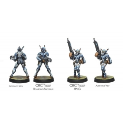 PANOCEANIA - ORC TROOPS HMG
