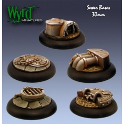 Sewer 30mm Bases (5 Pack)
