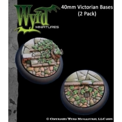 Victorian 40mm Bases (2 Pack)