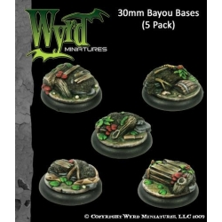 Bayou 30mm Bases (5 Pack)