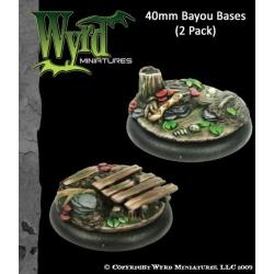 Bayou 40mm Bases (2 Pack)