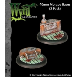 Morgue 40mm Bases (2 Pack)