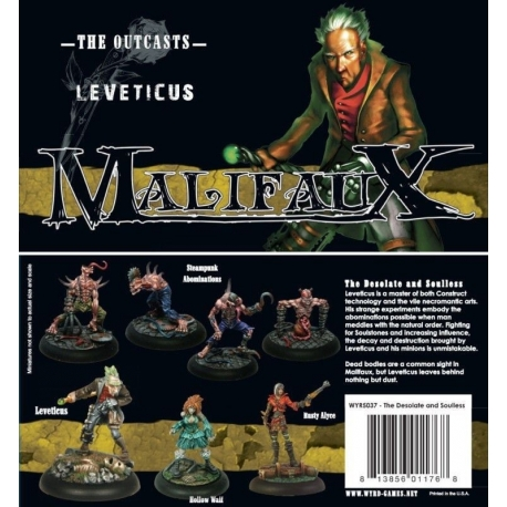 BOX SET LEVETICUS (The Desolate and Soulless)