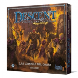 The Rust Chains is an expansion that brings new adventures to the second edition of Descent: Journey to Darkness.