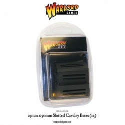 25MMX50MM CAVALRY SLOTTLE BASES (12)