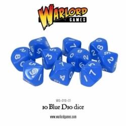 D10 DICE PACK - BLUE