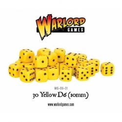30 YELLOW D6 (10MM)