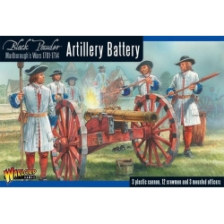 Marlborough's Artillery Battery