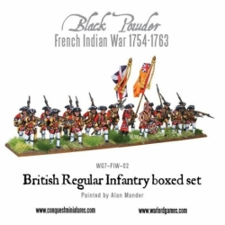 FRENCH-INDIAN WAR BRITISH REGULAR INFANTRY