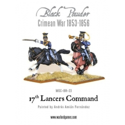 CRIMEAN WAR BRITISH 17TH LANCERS COMMAND