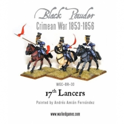 CRIMEAN WAR BRITISH 17TH LANCERS