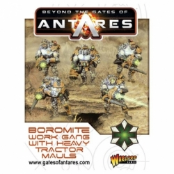 BOROMITES WITH TRACTOR MAULS 5 FIG BOX SET