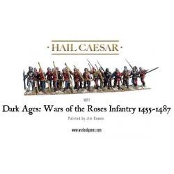 War Of The Roses Infantry 1455-1487