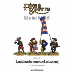 Landsknecht Command Advancing