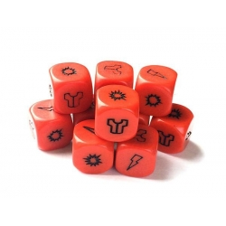 PROJECT Z - ZOMBIEN RED DICE PACK