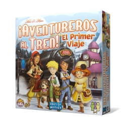First children's version of the fantastic adventure board game Ticket to Ride The first trip of Days of Wonders