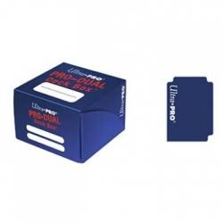 ULTRA PRO DECK BOX DUAL AZUL