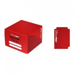 ULTRA PRO DECK BOX DUAL ROJO