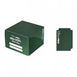 ULTRA PRO DECK BOX DUAL VERDE