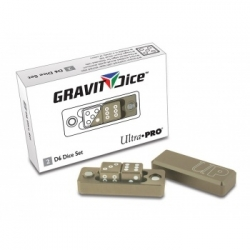 UP - GRAVITY DICE D6 - DESERT - 2 DICE SET
