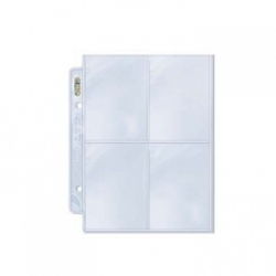 UP - PLATINUM 4-POCKET PAGES (FOR 2' MINI ÁLBUMS) DISPLAY (100 PAGES)