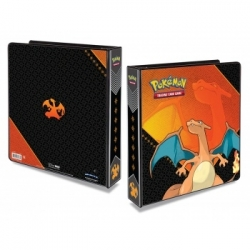 ÁLBUM 3 ANILLAS POKEMON CHARIZARD- ULTRA PRO